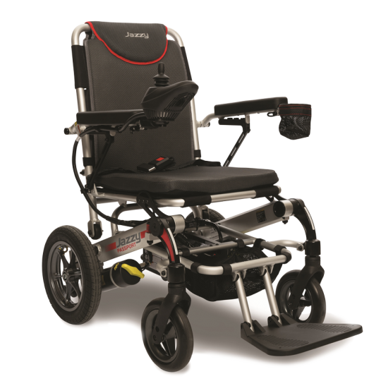 Pride Jazzy Passport Folding Travel Power Wheelchair
