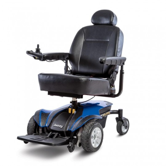 Blue Pride Jazzy Select Elite Power Wheelchair