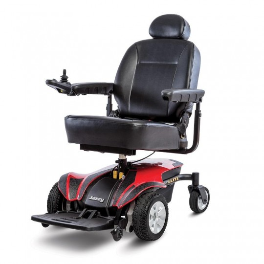 Red Pride Jazzy Select Elite Power Wheelchair