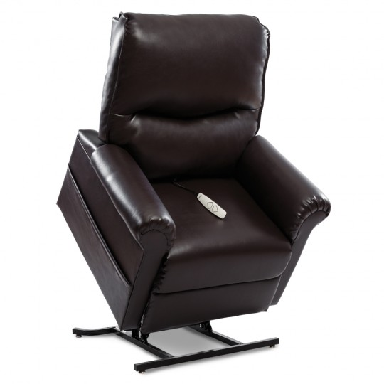 Dark Brown Pride Mobility Essential LC-105 3-Position Lift Chair