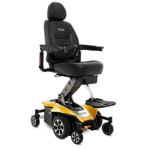 Yellow Pride Mobility Jazzy Air 2 Power Chair