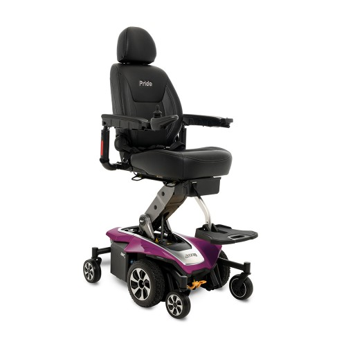 Purple Pride Mobility Jazzy Air 2 Power Chair