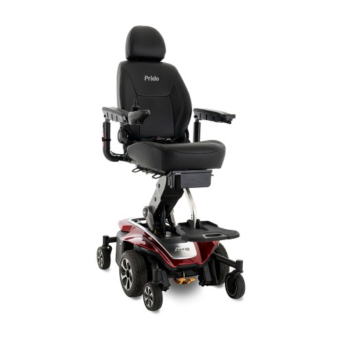 Red Pride Mobility Jazzy Air 2 Power Chair