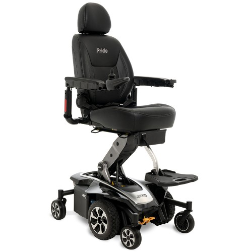 Black Pride Mobility Jazzy Air 2 Power Chair
