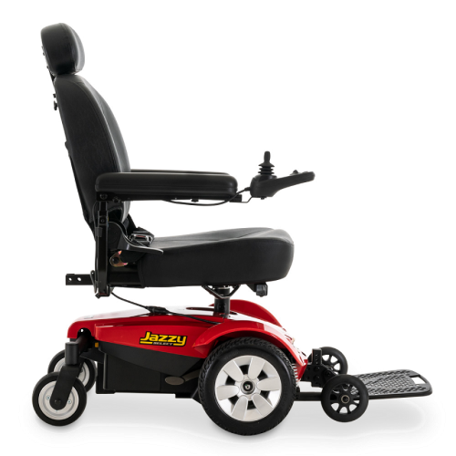 Side View of Pride Mobility Jazzy Select Power Chair
