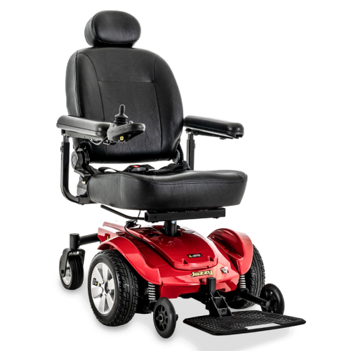Front View of Pride Mobility Jazzy Select Power Chair