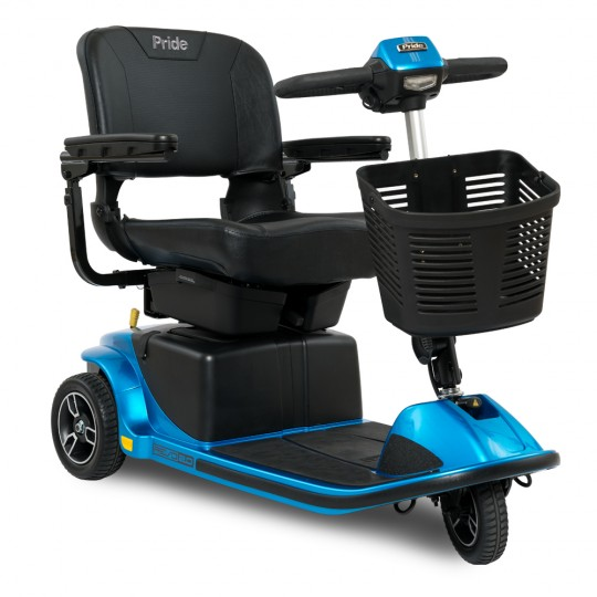 Blue Pride Revo 2.0 3-Wheel Mobility Scooter