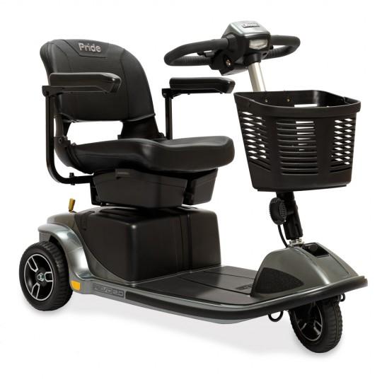 Black Pride Revo 2.0 3-Wheel Mobility Scooter