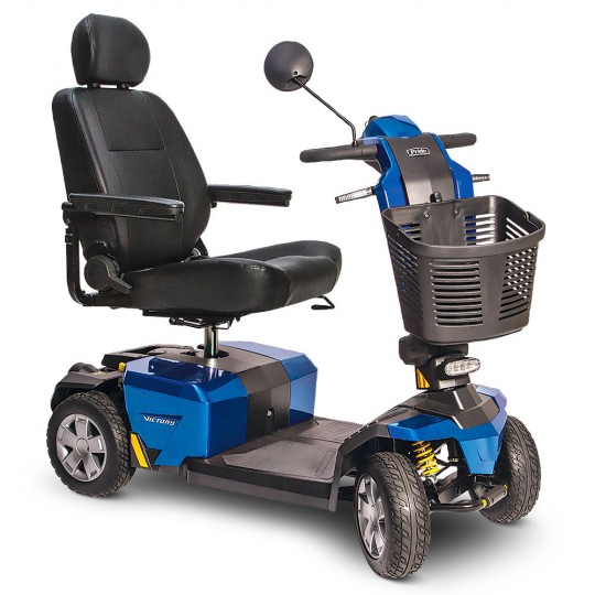 Pride Victory 10 LX with CTS Suspension 4-Wheel Mobility Scooter