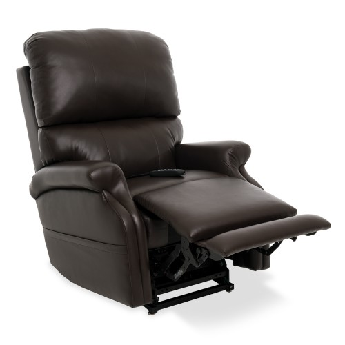 Dark Brown Pride VivaLift Escape Infinite Position Lift Chair with Foot Extension
