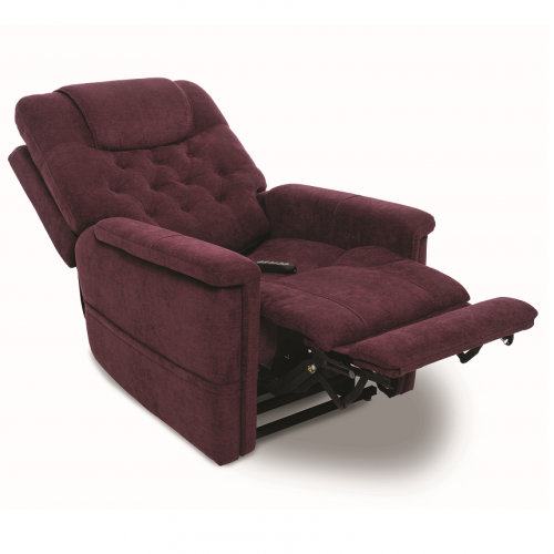 Maroon Pride Vivalift Legacy Infinite Position Lift Chair with Foot and Back Extension