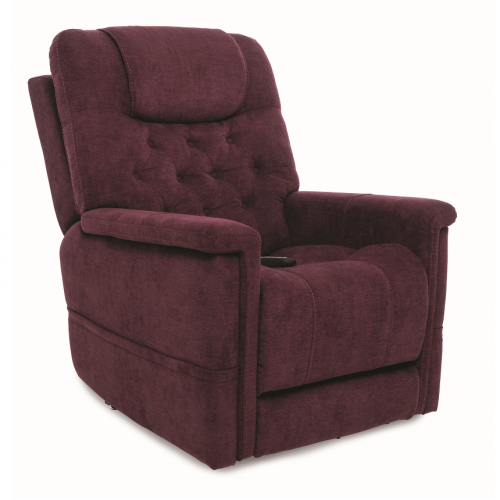 Maroon Pride Vivalift Legacy Infinite Position Lift Chair