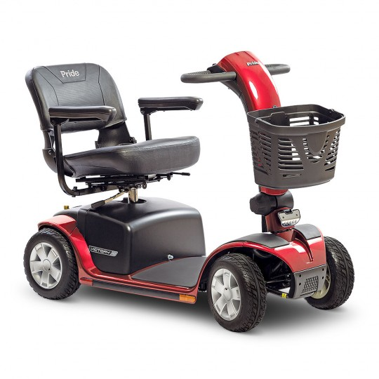 Red Pride Victory 10 4-Wheel Mobility Scooter