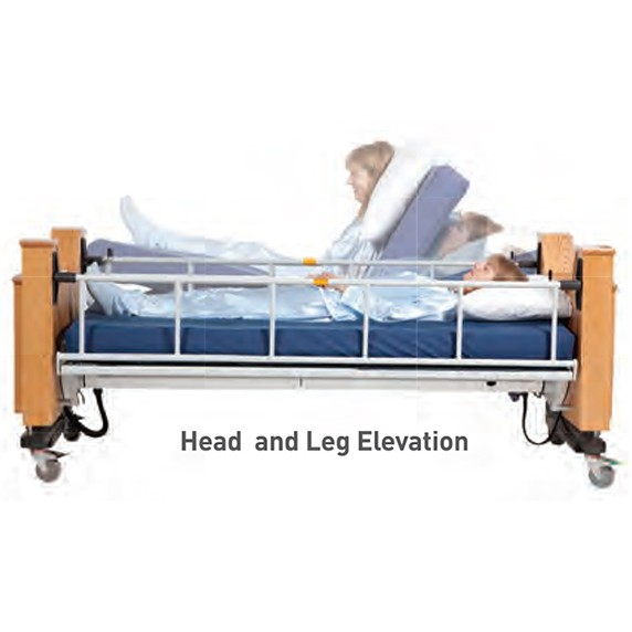 ProBed Medical The Freedom Bed with Head and Leg Elevation Demonstration