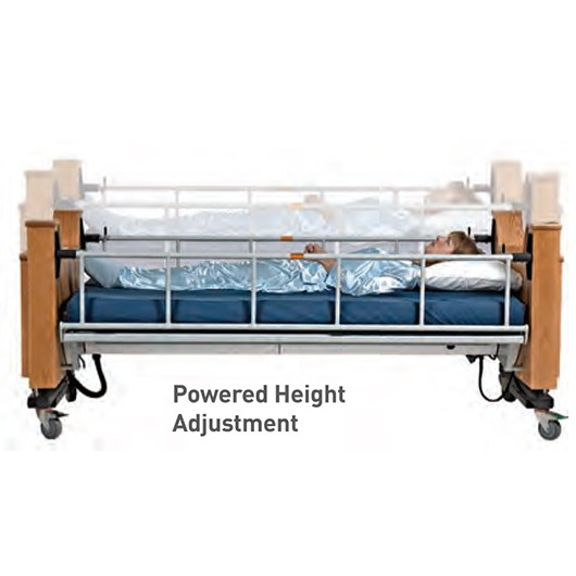 ProBed Medical The Freedom Bed with Powered Height Adjustment Demonstration