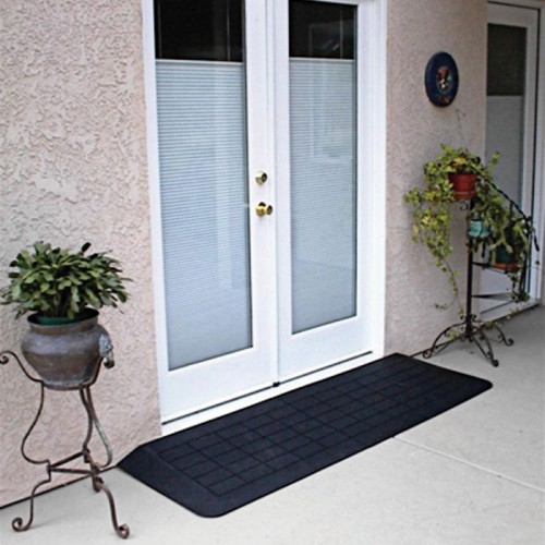 PVI Rubber Threshold in Front of doors