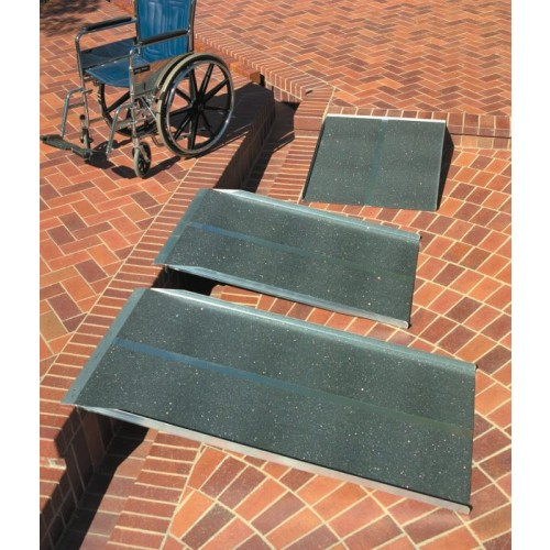 PVI Solid Ramp Extended from Curb