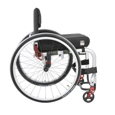 Side view of Quickie Q3 Nextgen Manual Rigid Wheelchair