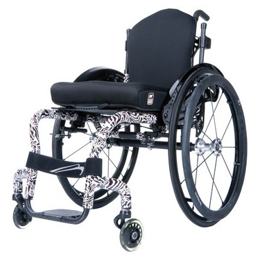Zebra Quickie Q3 Nextgen Manual Rigid Wheelchair