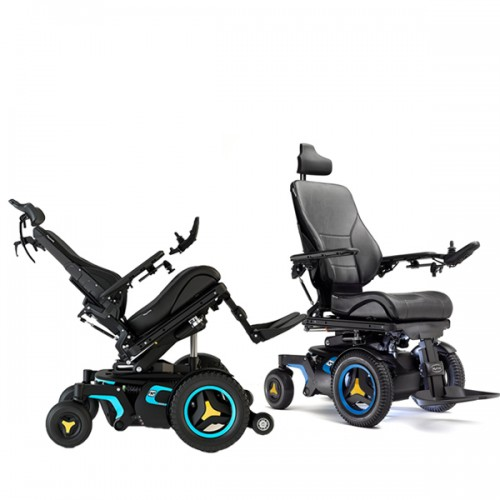 Rehab Electric Wheelchair Rental (Tilt, Recline, Power Legs & Elevating Seat)