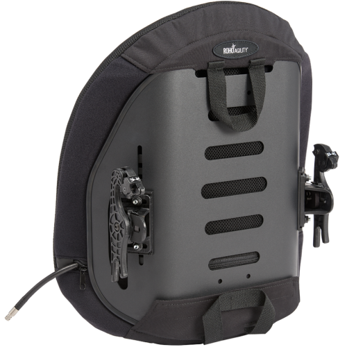 Bottom View of ROHO Agility Mid Contour Back with Air