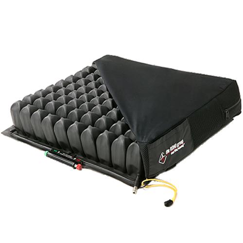 Black ROHO Quadtro Select High Profile Cells in Cushion Cover