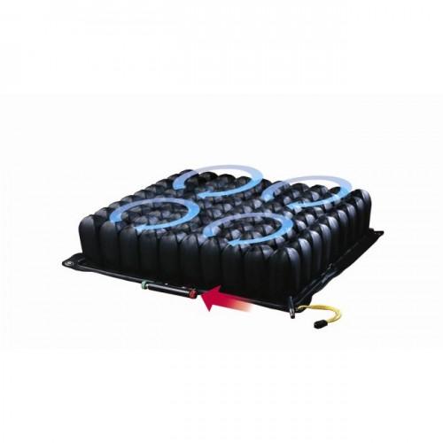 Black ROHO Quadtro Select Mid Profile Cushion