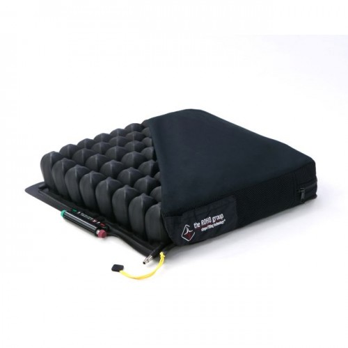 Black ROHO Quadtro Select High Profile Cells in Cushion Cover