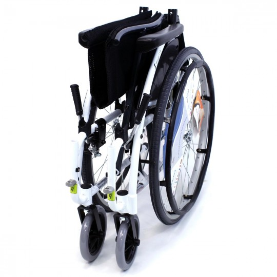 Folded S 115 Alpine White Ultra Lightweight Wheelchair