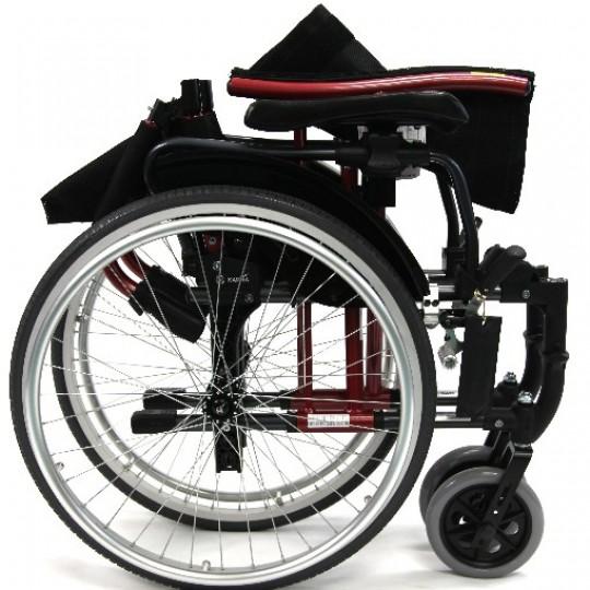 Folded Karma S-Ergo 305 Ultra Lightweight Wheelchair