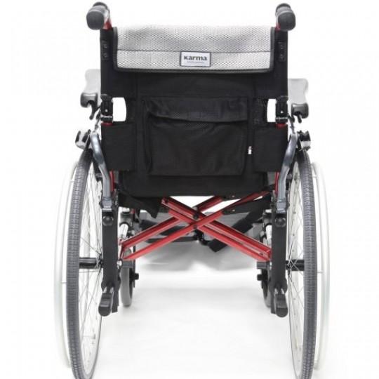 Back view of Karma S-Ergo 305 Ultra Lightweight Wheelchair