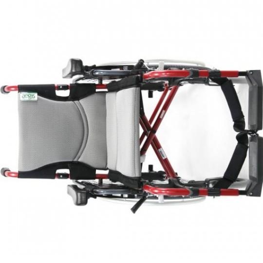 Front view of Karma S-Ergo 305 Ultra Lightweight Wheelchair