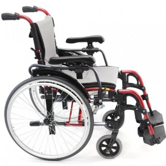 Side view of Karma S-Ergo 305 Ultra Lightweight Wheelchair