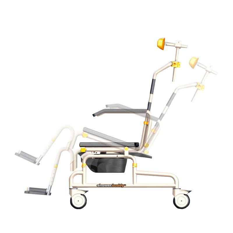 SB3T Roll-In Buddy Lightweight Shower Chair