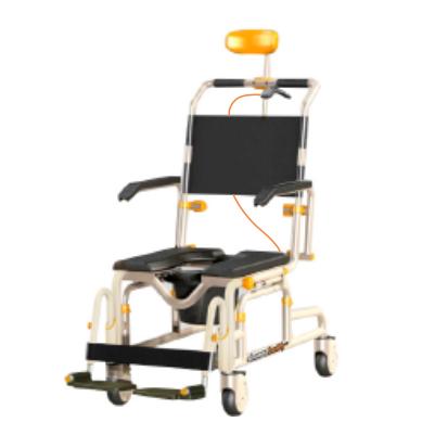 Front view of SB3T Roll-InBuddy Lightweight Shower Chair