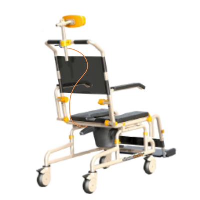 Back View of SB3T Roll-In Buddy Lightweight Shower Chair