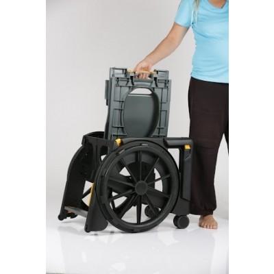 Seatara WheelAble Folding Commode Shower Wheelchair