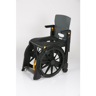 Seatara WheelAble Folding Commode & Shower Wheelchair
