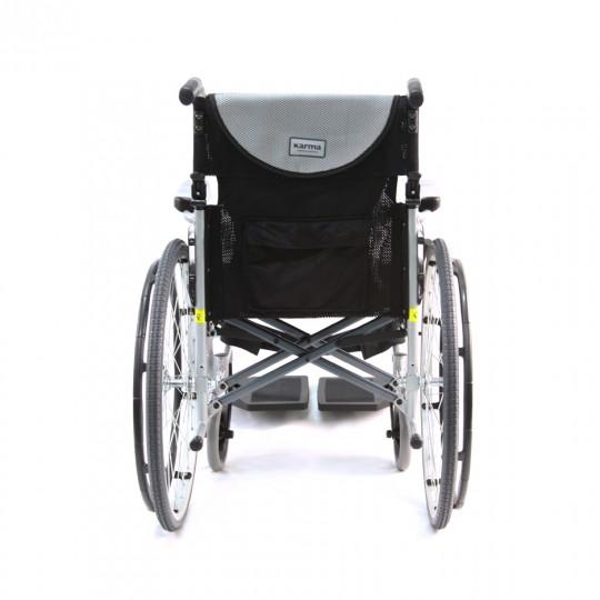 Back view of S Ergo 105 Ultra Lightweight Wheelchair