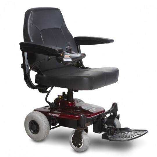 Front View of Shoprider Jimmie Travel Power Wheelchair