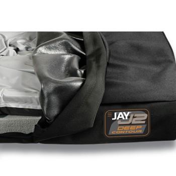 Black Sunrise Medical JAY® J2® Wheelchair Cushion