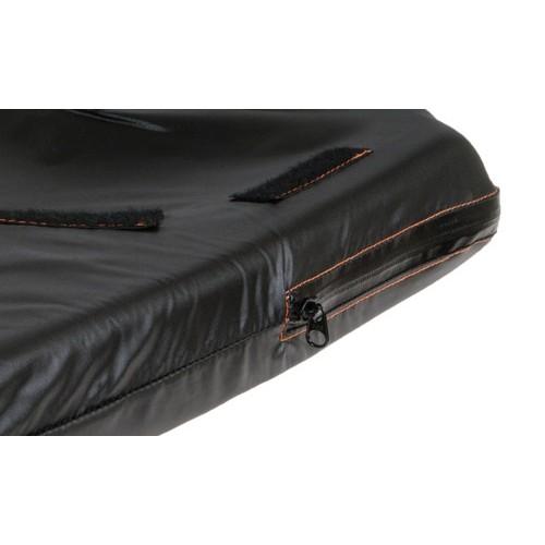 Black Sunrise Medical JAY® X2® Wheelchair Cushion Zipper