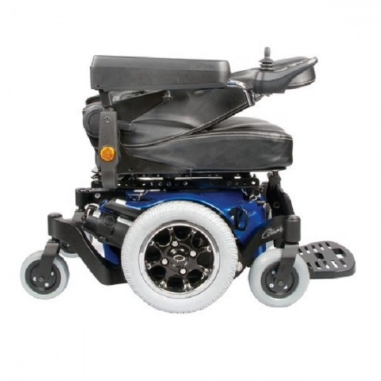 Folded Sunrise Quickie Pulse Series Power Wheelchair