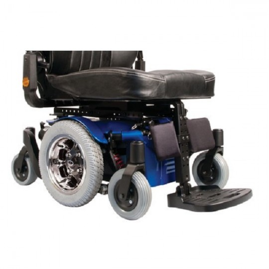 Footrests of Sunrise Quickie Pulse Series Power Wheelchair