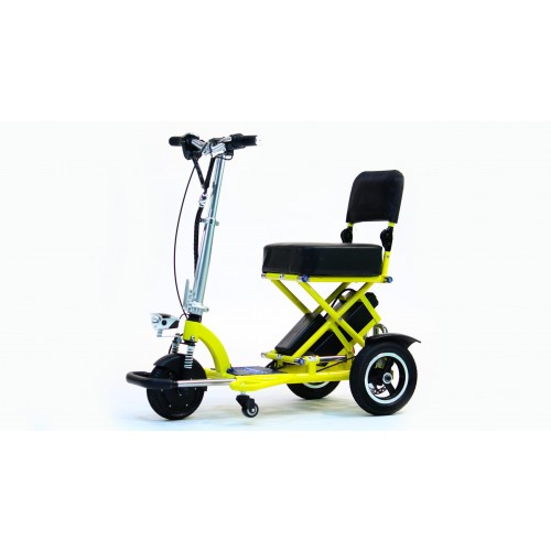 Yellow Triaxe Sport Scooter