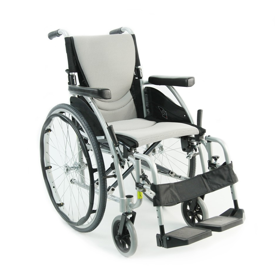 White Ultra Light Folding Wheelchair Rental