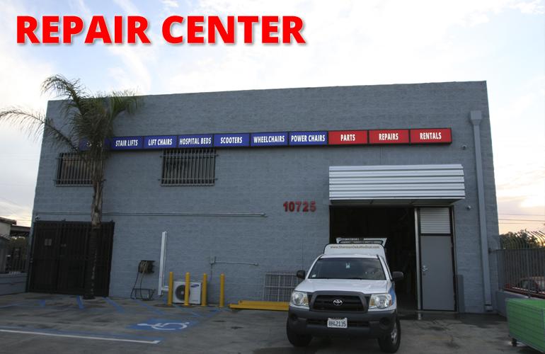Repair Facility Front
