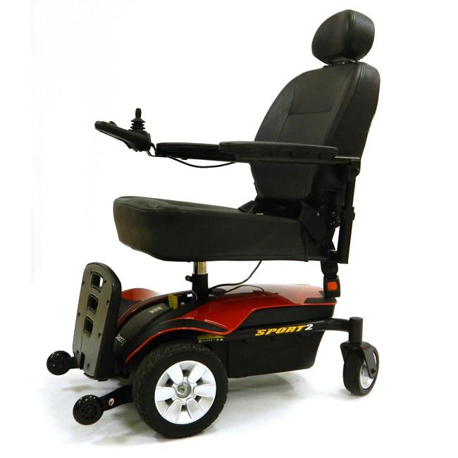 Pride Mobility Jazzy Sport 2 Power Wheelchair