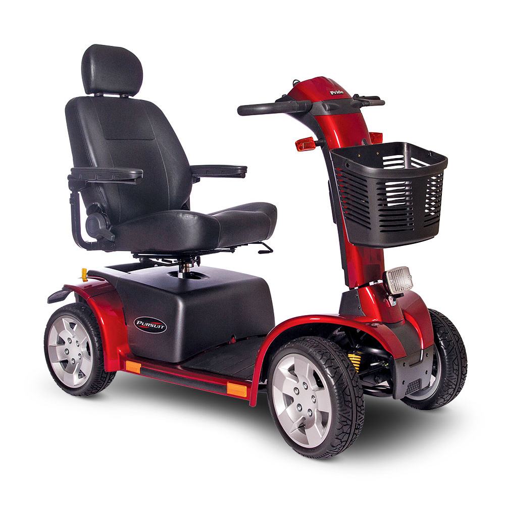 Pride Mobility Scooter >> Pride Pursuit 4 Wheel Mobility Scooter