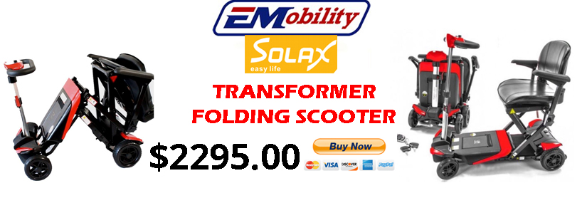 Solax Transformer Folding Scooter Available At Sherman Oaks Medical Click Here For More Information